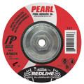 "Pearl REDLINE 5"" x 1/4"" x 5/8""-11 Depressed Center Grinding Wheel (Pack of 10)"