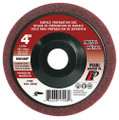 "Pearl 4"" x 5/8"" Al/Ox Surface Preparation Wheel (Pack of 10)"