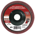"""Pearl 4-1/2"""" x 7/8"""" Al/Ox Surface Preparation Wheel (Pack of 10)"""