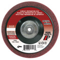 "Pearl 4-1/2"" x 5/8""-11 Al/Ox Surface Preparation Wheel (Pack of 10)"