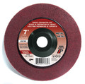 "Pearl 7"" x 7/8"" Al/Ox Surface Preparation Wheel (Pack of 10)"