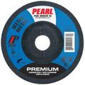 """Pearl 4-1/2"""" x 1/8"""" x 7/8"""" Grinding Wheel 46 Grit  TYPE 27 - Metal (Pack of 25)"""