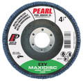 "Pearl EXV 4-1/2"" x 7/8"" Zirconia T27 Flap Disc - 60 GRIT (Pack of 10)"