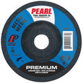 "Pearl 4"" x 1/8"" x 5/8"" Grinding Wheel 80 Grit  TYPE 27 - Metal (Pack of 20)"