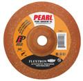 "Pearl 4"" x 1/8"" x 5/8"" Flextron SRT Grinding Wheel 36 Grit  TYPE 27 - Metal (Pack of 25)"