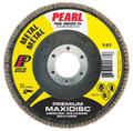 "Pearl Premium 5"" x 5/8""-11 AL/OX T27 Flap Disc - 120 GRIT (Pack of 10)"