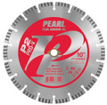 "Pearl 10"" x .095 x DIA, 5/8""  P2 PRO-V Hard Materials Diamond Blade"
