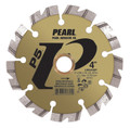 "Pearl 4"" x .090 x 7/8"", 5/8"", 20mm P5 Hard Materials Diamond Blade"