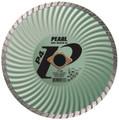 "Pearl 4"" x .070 x 20mm - 5/8"" P4 Waved Core Turbo Diamond Blade"