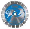 """Pearl 12"""" x .125 x 20mm  P1 EXV Segmented Diamond Blade"""