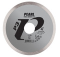 "4"" x .060 x 20mm, 5/8"" Pearl P3 Tile Cutting Diamond Blade"