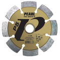 "Pearl 4 1/2"" x .250 x 7/8"" - 5/8 P5 PRO-V Tuck Point Diamond Blade"