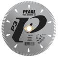 "Pearl 5"" x .090 x 7/8"", 20mm, 5/8"", 4-holes P3 Diamond Blade - Granite"