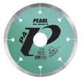 "4"" x .060 x 20mm, 7/8"", 5/8"" Pearl P4 Diamond Blade - Porcelain Tile"