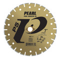 """Pearl 8"""" x DIA - 5/8"""" Adapter P5  Electroplated Diamond Blade - Marble"""