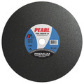 "Pearl 14"" x 3/32"" x 1"" A46S Chop Saw Wheels - Metal (Pack of 10)"