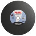 "Pearl 10"" x 1/8"" x 1"" A30R Chop Saw Wheels - Metal (Pack of 10)"