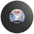 "Pearl 14"" x 1/8"" x 1"" Silver Line A30R Gas Saw Wheel - Metal (Pack of 10)"