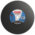 "Pearl 14"" x 5/32"" x 1"" Premium AC30S Gas Saw Wheel - Metal (Pack of 10)"