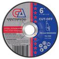 "Premium Cut-Off Wheel 6"" x .040"" x 7/8""  T-27 Metal Cutting (Pack of 25)"