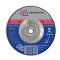 "Grinding Wheel 5"" x 1/4"" x 5/8-11""  T-27 Grinding Wheel (Pack of 10)"