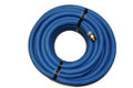 "Water Hose Continental Industrial 5/8"" x 50' Blue Rubber (SWIVTECH 360) 200psi - USA"