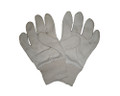 White Jersey Gloves Cotton 7oz - One Size