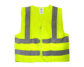 Safety Vest Neon Green High Visibility with 2 Pockets