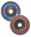 Flap Disc 4 1/2 x 7/8 60grit HD Aluminum Oxide - T27 (10 Pack)