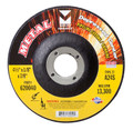 "Mercer 4 1/2"" x 1/8"" x 5/8""-11 Grinding Wheel TYPE 27 - Metal (Pack of 20)"