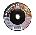 "Mercer 4 1/2"" x ¼"" x 7/8"" Grinding Wheel TYPE 27 - Aluminum (Pack of 25)"