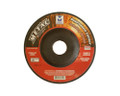 "Mercer 4 1/2"" x 1/8"" x 7/8"" Grinding Wheel 80 Grit TYPE 27 - Metal (Pack of 25)"