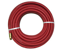 "Air Hoses Goodyear Rubber RED 250# 1/4"" x 25' - USA"