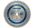"Metal Cutting Saw Blades 7-1/4"" x 5/8"" x 52T"