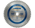 "Metal Cutting Saw Blades 10"" x 1"" x 52T"