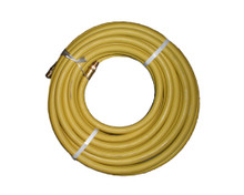 """Air Hoses Goodyear Rubber YELLOW 250# 3/8"""" x 25' - USA"""