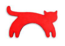 Red Minina Cat Unscented Heatable Neck Warmer Pillow