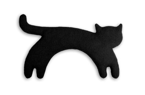 Black Minina Cat Unscented Heatable Neck Warmer Pillow
