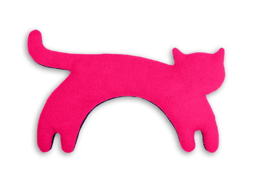 Pink Minina Cat Unscented Heatable Neck Warmer Pillow