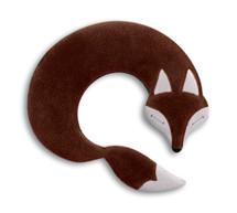 Brown Noah Fox Unscented Heatable Neck Warmer Pillow