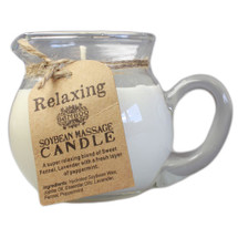 Bamboo Soybean Pouring Massage Candle: Relaxing Blend