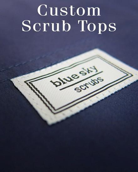 Custom Scrub Tops for Women