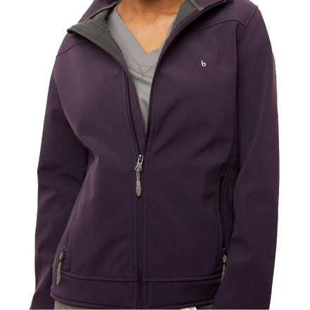 Eggplant Haddington Soft Shell Jacket