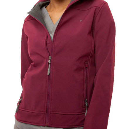 Fuchsia Haddington Soft Shell Jacket