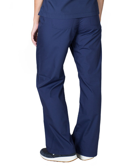 Navy Blue Simple Scrub Bottoms