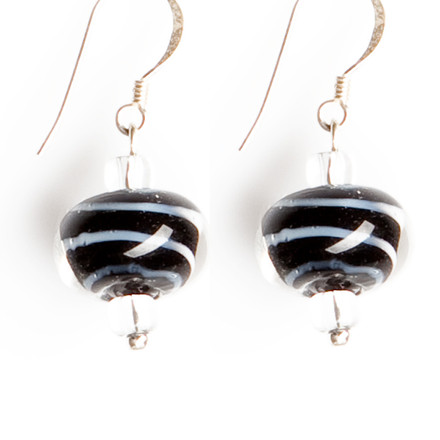 Serengeti blue sky Luxe Earrings
