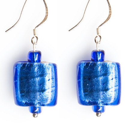 The Royals blue sky Luxe Earrings