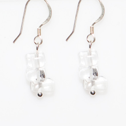 Ice Chips blue sky Luxe Earrings