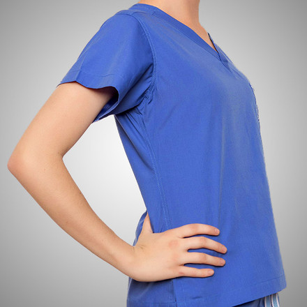 Calypso Blue Original Scrub Tops