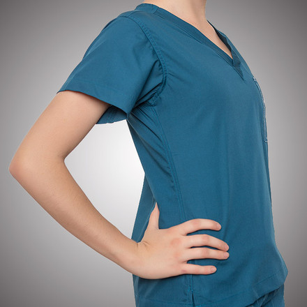 Caribbean Blue Original Scrub Tops